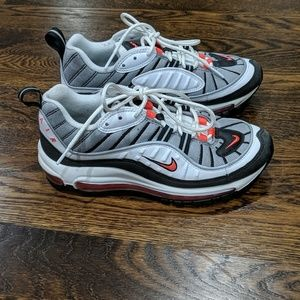 Nike Air Max 97 Pink Black and White Size 7